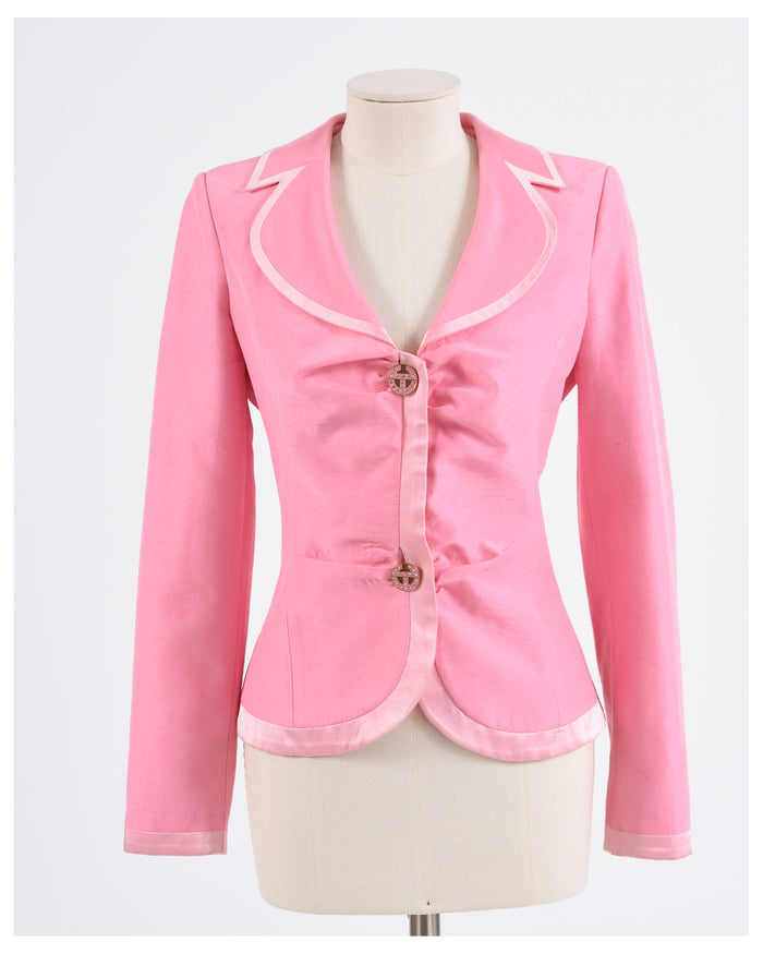 Enrico Coveri 1990s Pink Jacket