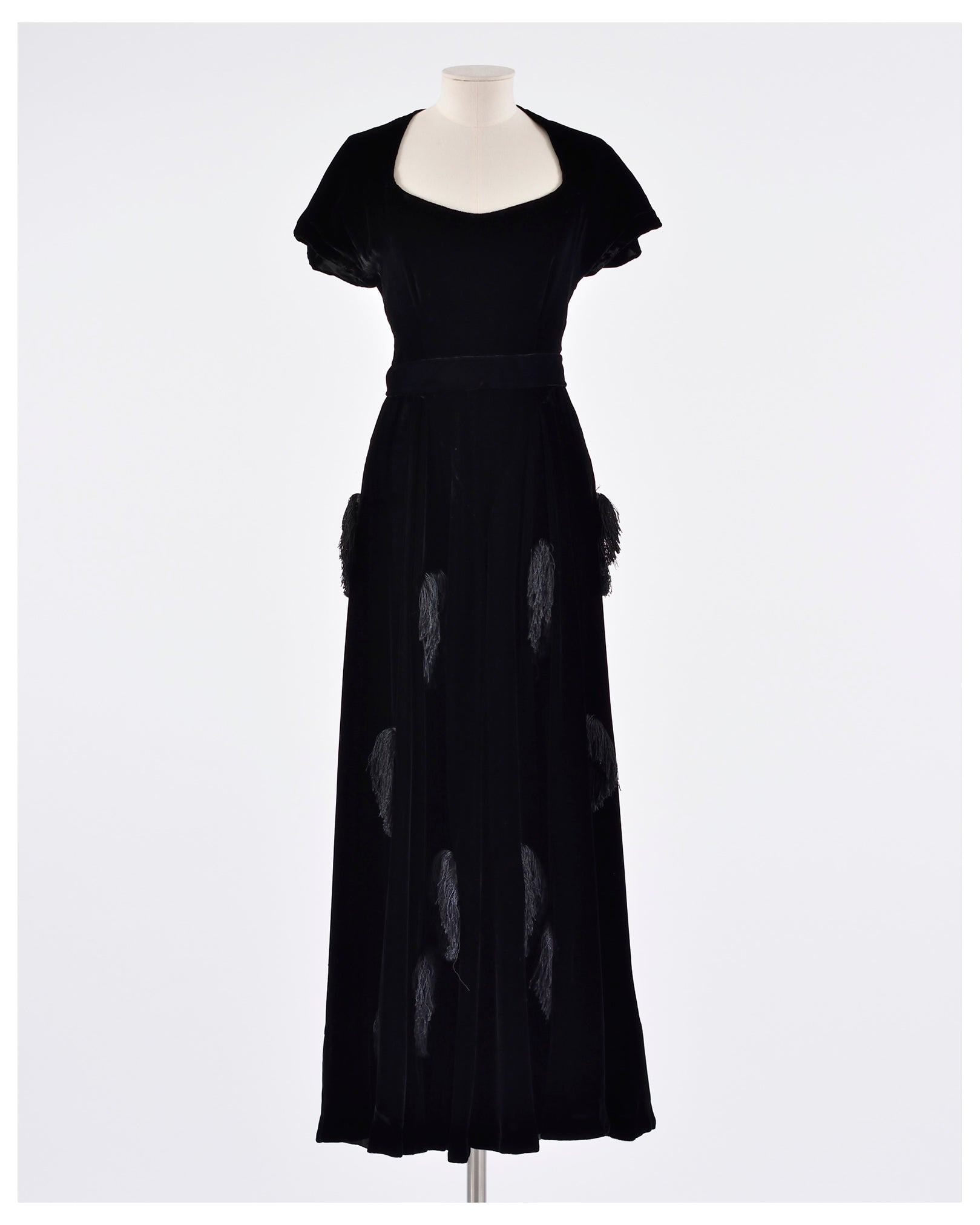 Vintage 1940s Gown Dress