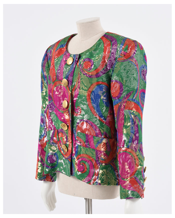 YVES SAINT LAURENT 1980s Jacket from Cavalli e Nastri Milano