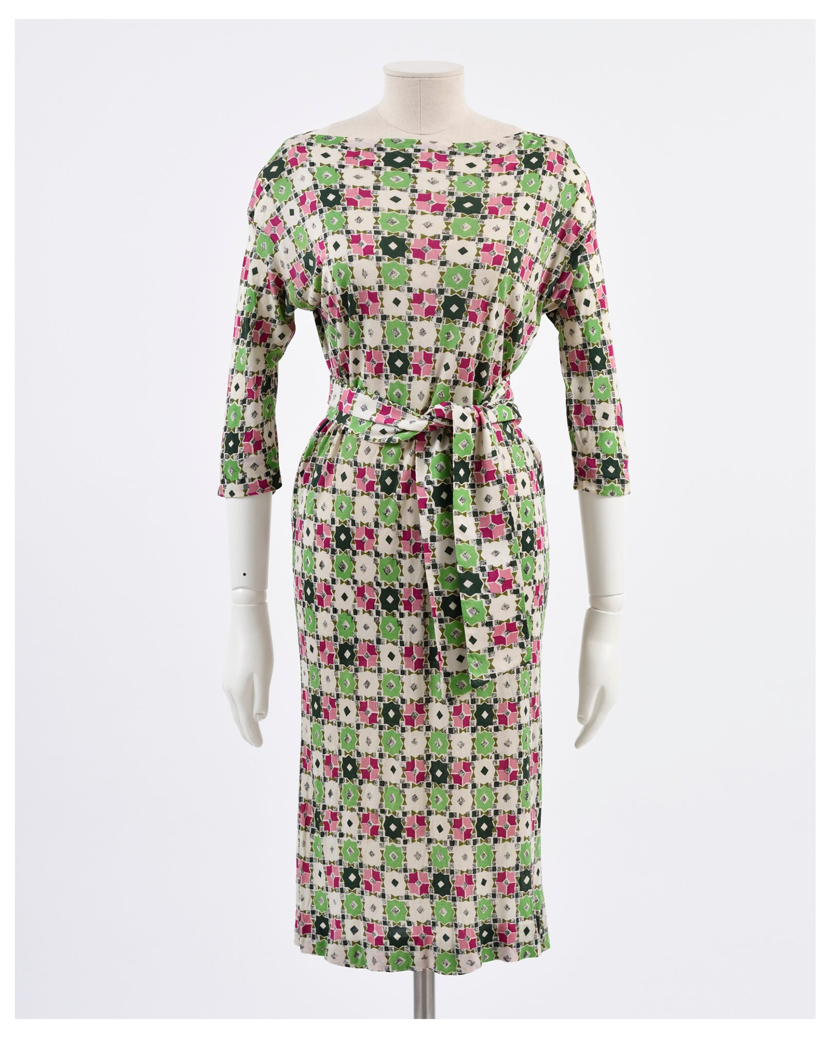 Vintage 1970s Jersey dress from Cavalli e Nastri Milano