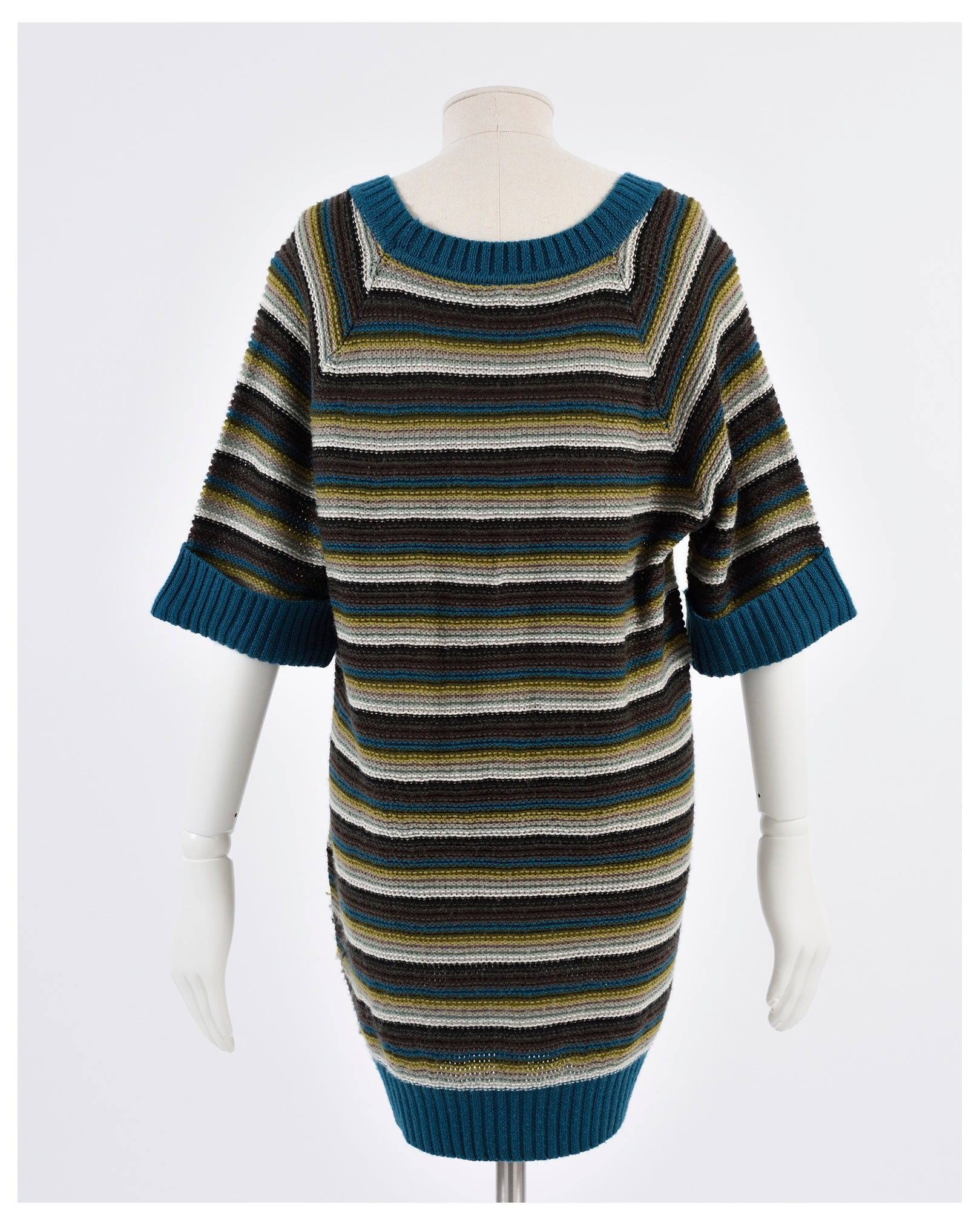 Kenzo Maxi Pullover Sweater Mini Dress-Cavalli e Nastri
