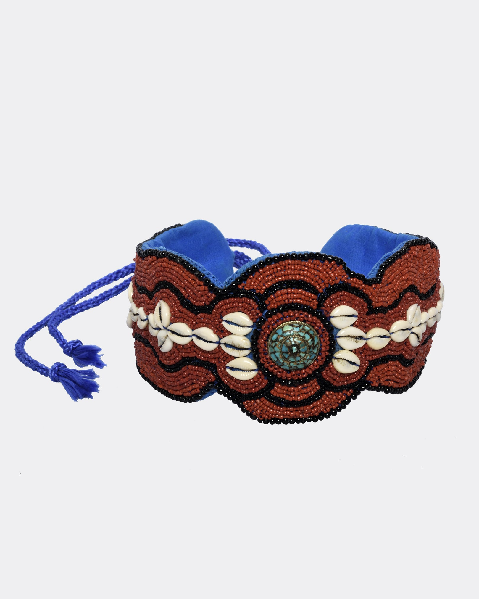 VINTAGE Ethnic Embroidered Belt