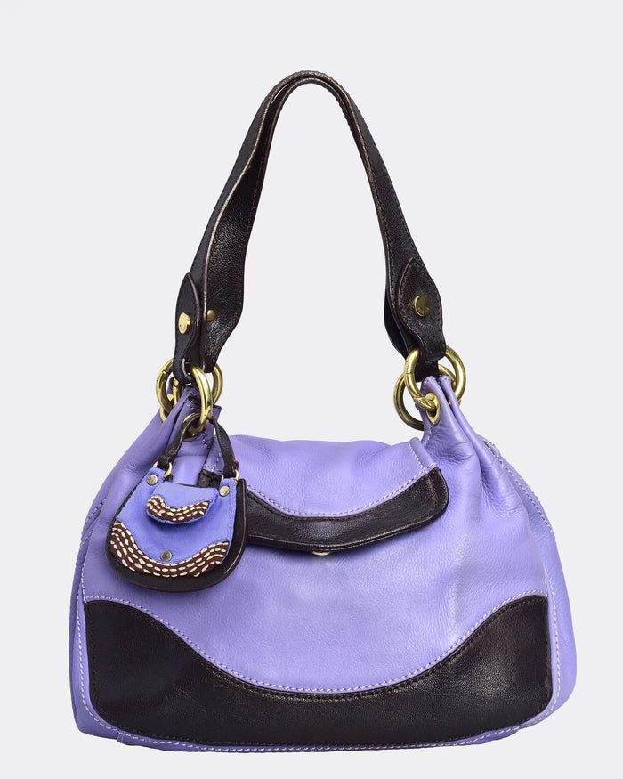 MOSCHINO Purple Bracelet Handbag