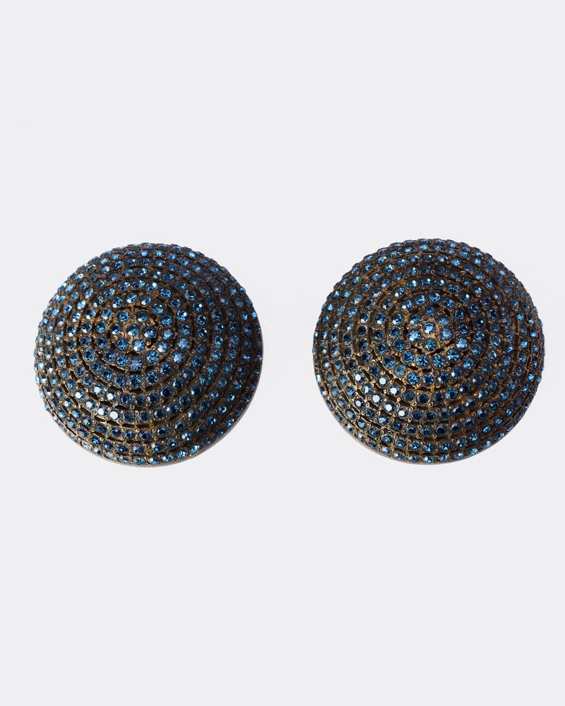 VALENTINO Round Hemisphere Earrings