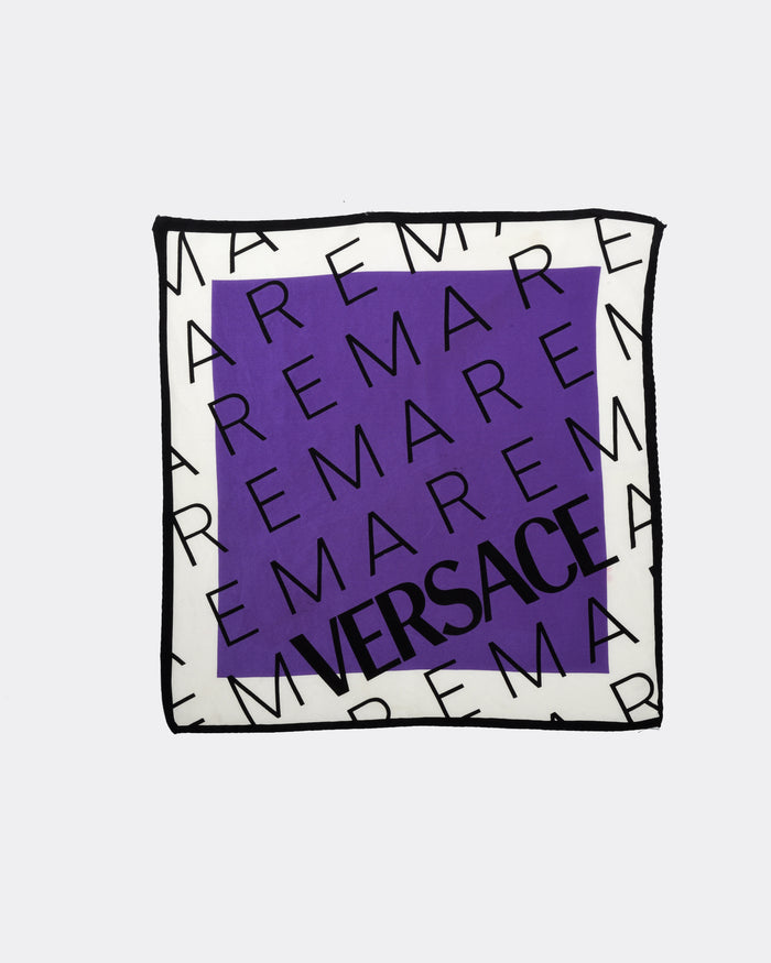 VERSACE Purple Foulard