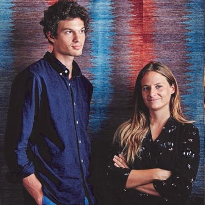 Edmund Le Brun and Flore de Taisne- Founders of ISHKAR and Forbes 30 under 30 for Social Enterprise Achievement