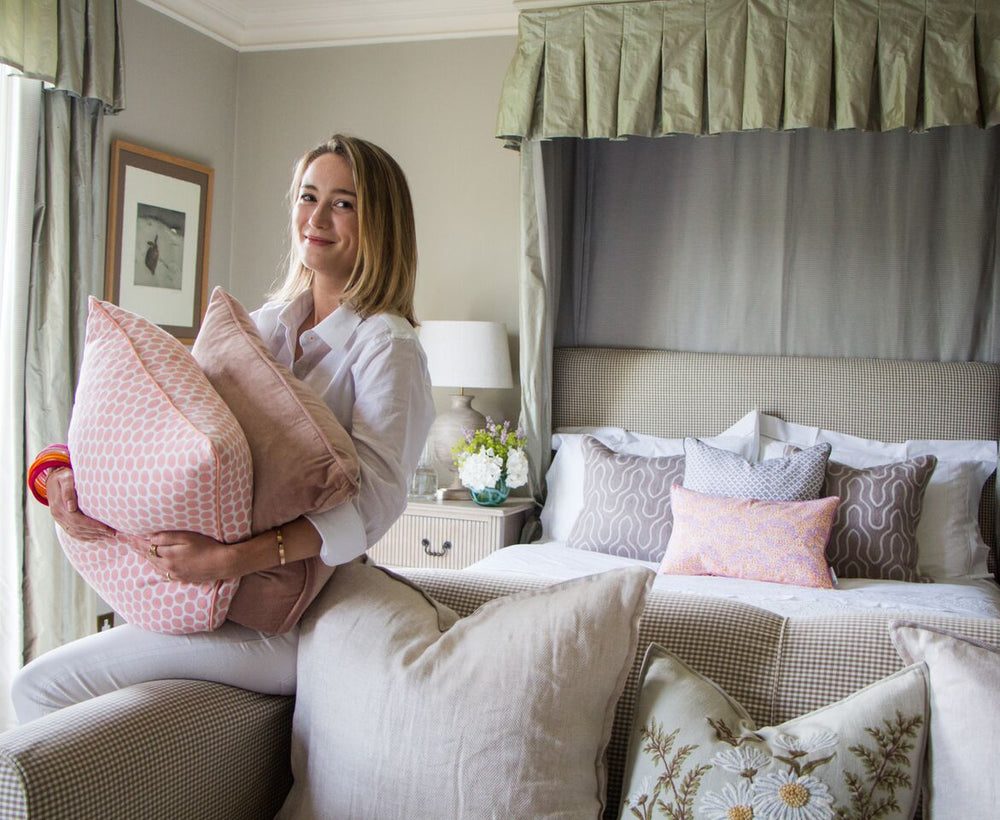 5 Tips on Designing a Bedroom from Rebecca Roe, Creative Director at Hedgeroe Home