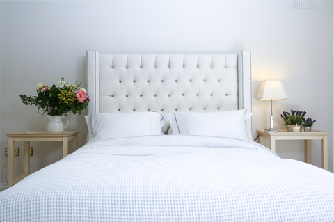 White & Green best brand of bed linen quality online buy
