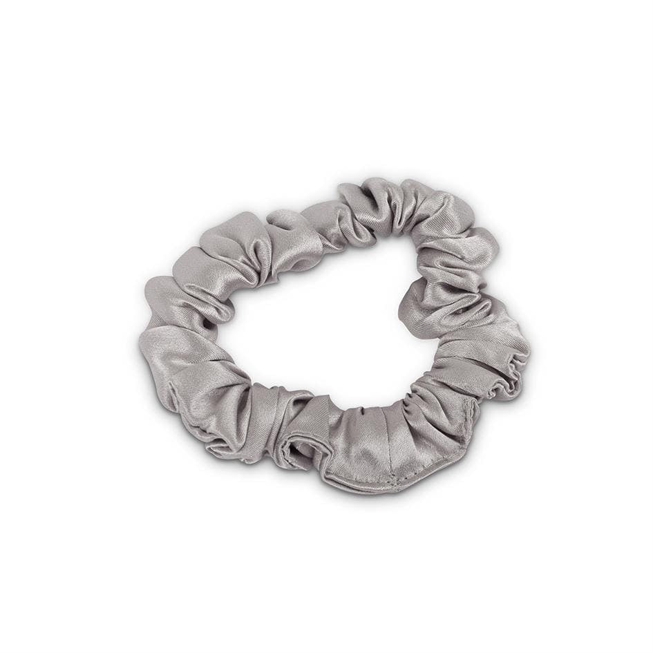 Grey Silk Hair Tie/Scrunchy