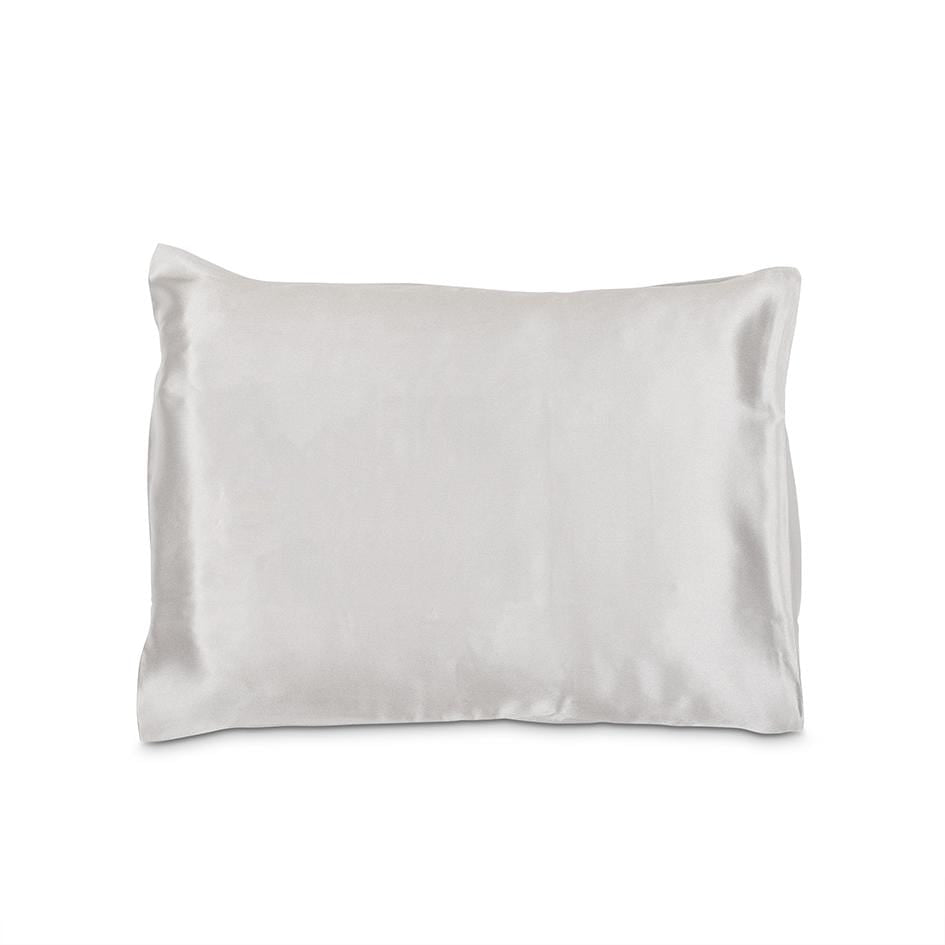 Grey Silk Eye Mask