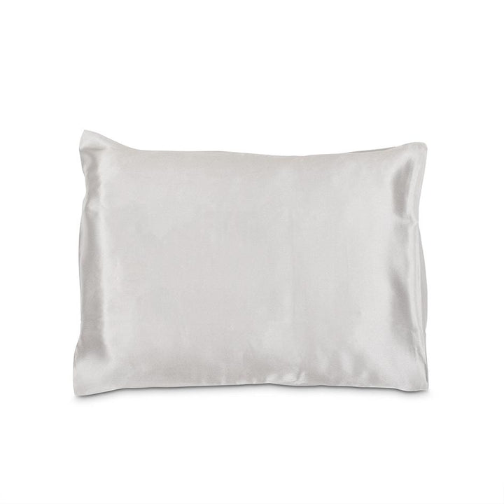 Grey Silk Pillowcase