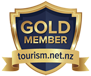 Campervan Hire NZ Gold Member, Tourism.net.nz - Cruzy Campers Christchurch
