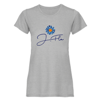 Daisy T-Shirt (Women's) (Grey/Blue)