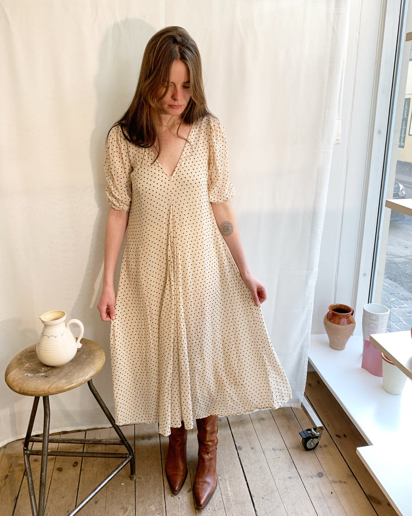 Ganni dress w dots
