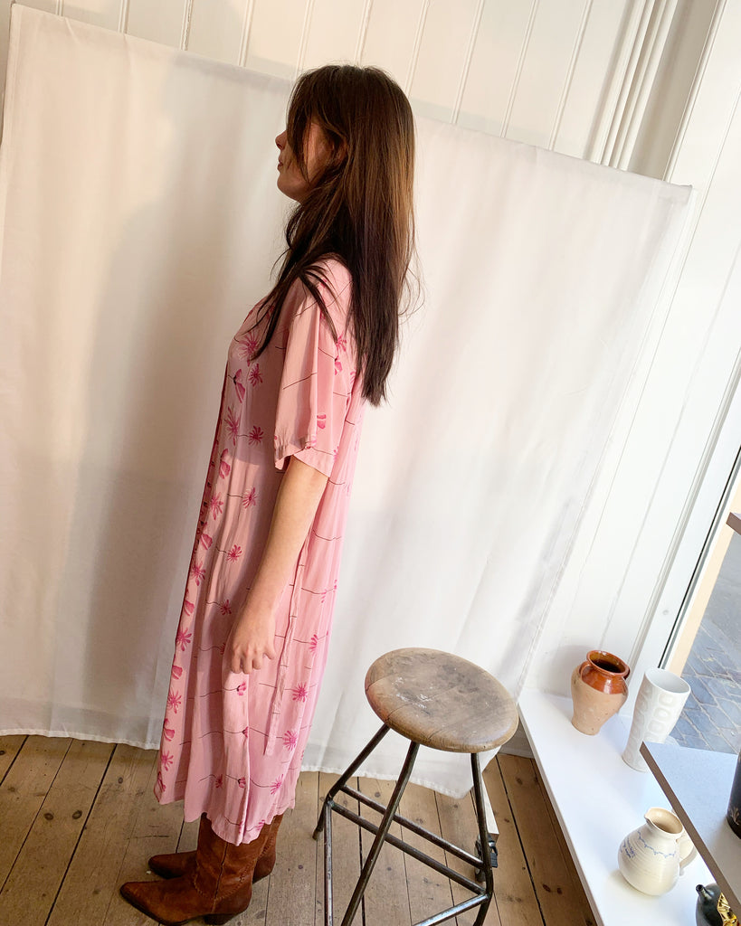 Vintage light dress