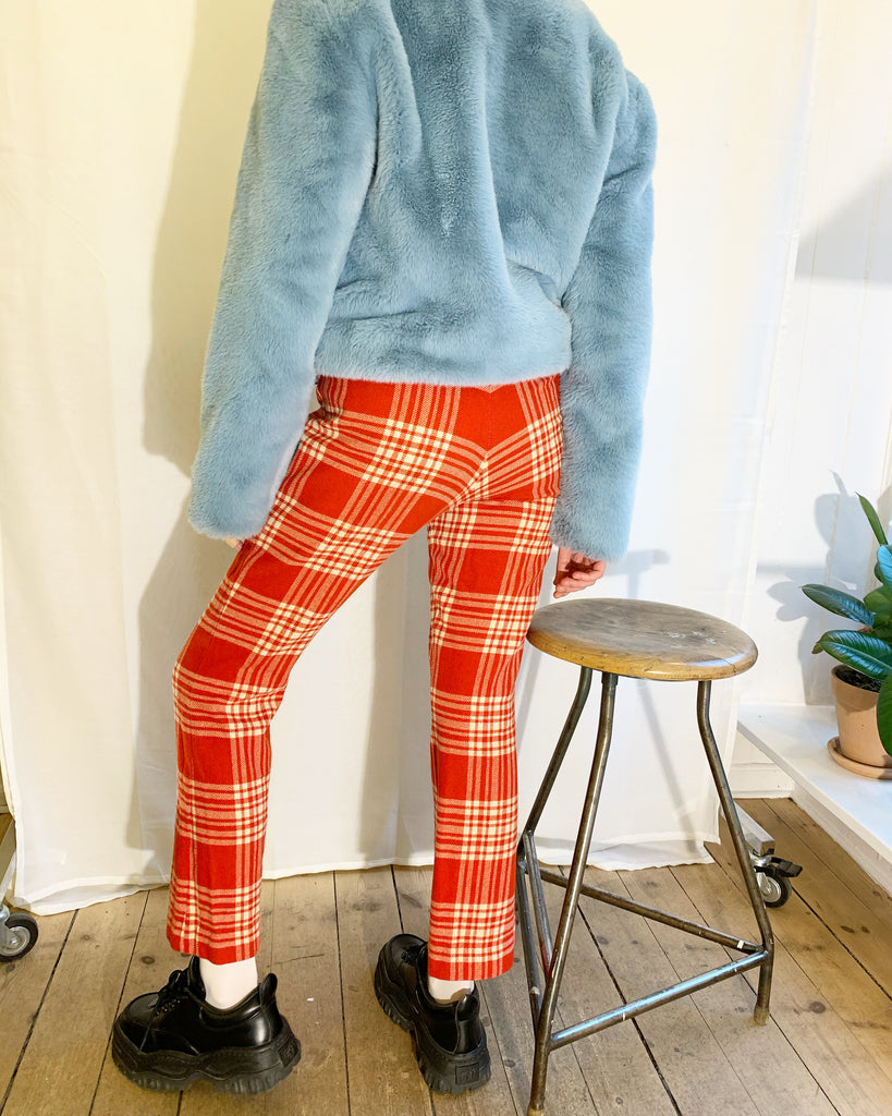Vintage checkered pants