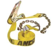"ANCRA RATCHET STRAP 3"" x 30' WITH CHAIN EXTENSIONS (48987-25)"