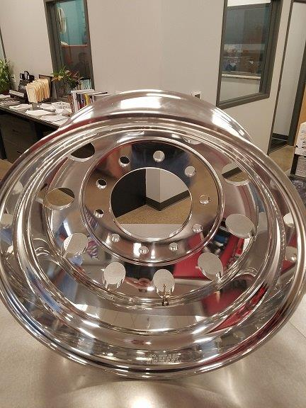 ALL ALUMINUM WHEEL, 8.25 x 22.5 (AW2258MN)