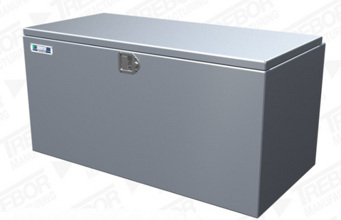 TOOLBOX, TOP COVER, ALUMINUM   24x24x48