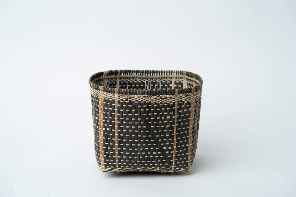 Bidayuh Storage Basket | Charcoal