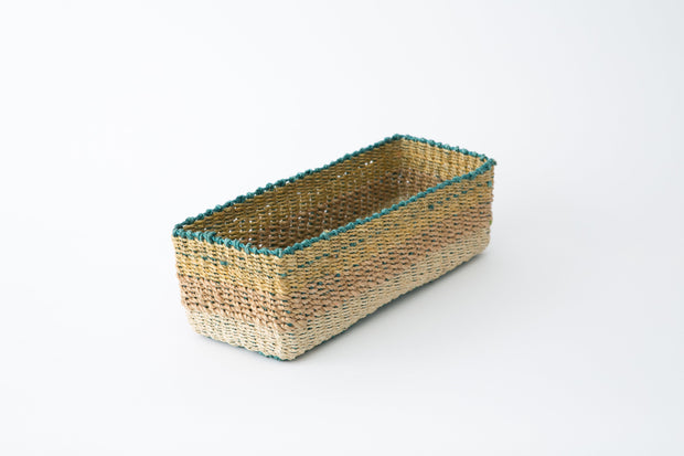 All Purpose Storage Tray | Golden brown + Natural 1