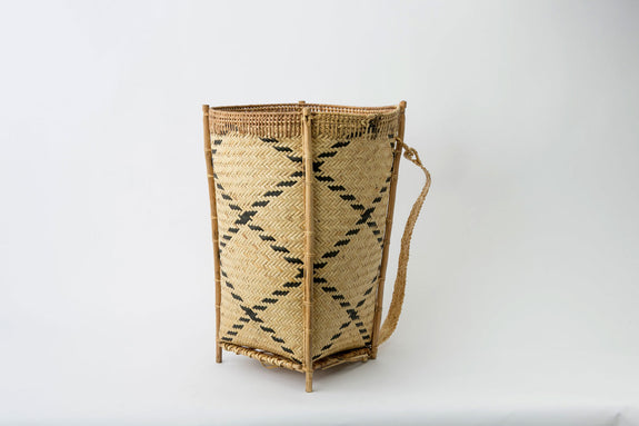 Cone Basket with Stand
