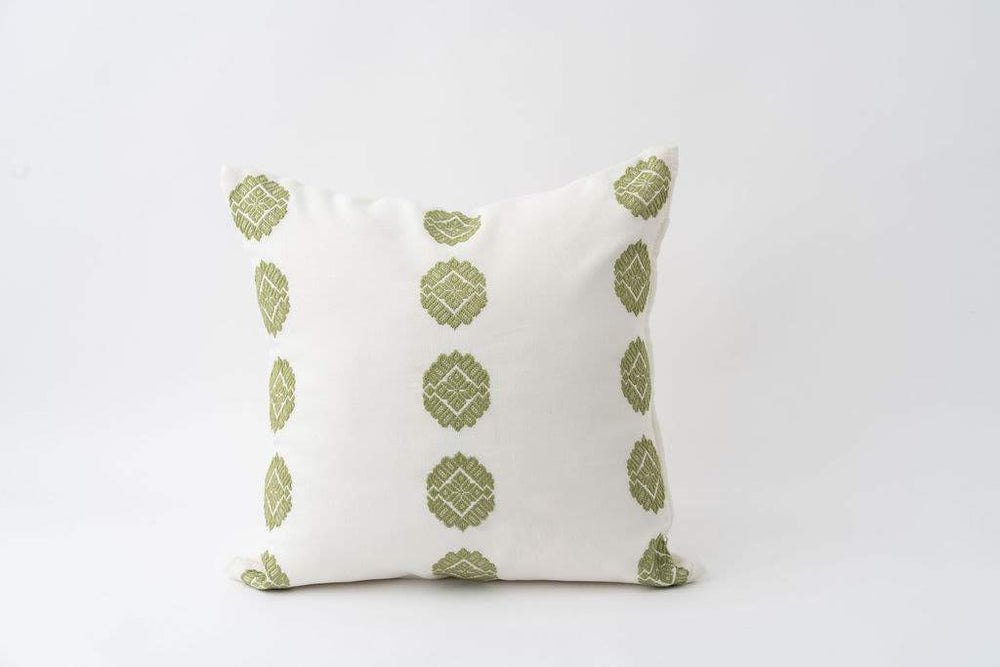 Brocade Weave Pillow Cover | Diamonds
