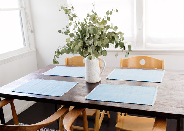 Inabel Placemat | Pastel Blue 1