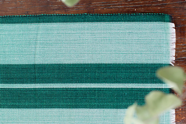 Inabel Placemat | Forrest Green 1
