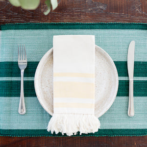 Inabel Placemat | Forrest Green