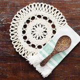 Handwoven Placemat Set | Trivet | All Natural