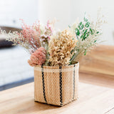 Decorative Dried Flowers in Bidayuh Storage Basket