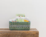 All Purpose Storage Tray | Green + Blue + Natural