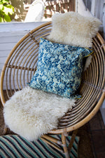Batik Pillow | Blue and Green