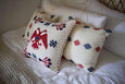Brocade Weave Pillow Cover - Two Headed Bird