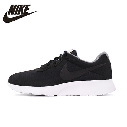 NIKE 2017 New Arrival Black And White Male Motion Sport Time Running Shoe Running Shoes For Men #876899-001