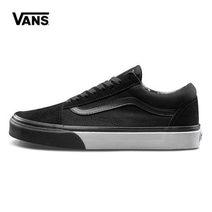 Original Vans Low-Top Male Skateboarding Shoes Old Skool Mens Sport Shoes  Canvas Sneakers Breathable a7377a640
