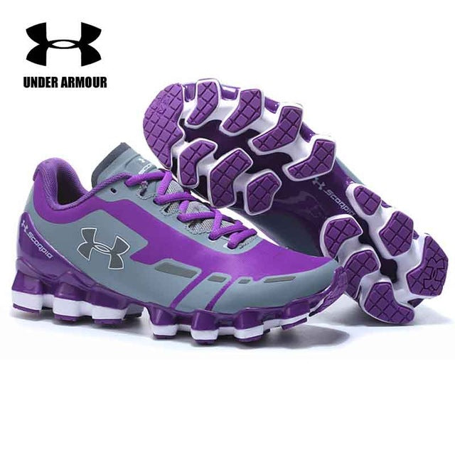 best sneakers 3cc3b 0e851 Under Armour Scorpio 2 Women Running shoes flats women sneakers Breathable  Cushioning sports shoes zapatillas mujer deportiva