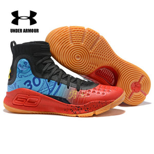 96aae83c7763 Under Armour Men Basketball Shoes Curry 4 sock sneakers Stephen Curry  Training Boots Zapatillas hombre deportiva