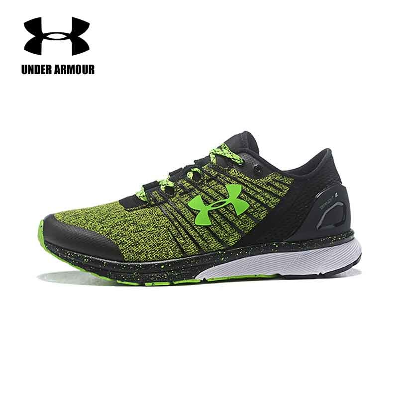 c0699bdc400e Under Armour Men Running Shoes Charged Bandit 2 athletic sneakers  cushioning sports shoes Zapatillas Hombre Deportiva