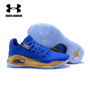 855d04a49a42 Under Armour men Basketball Shoes Curry 4 low top breathable sneakers curry  Training Boots zapatillas hombre