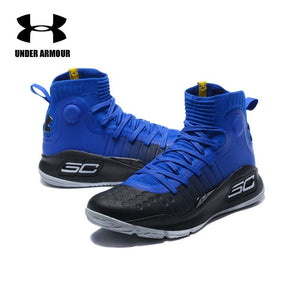 0f28e10b200c Under Armour Men Curry 4 Basketball Shoes sock sneakers Training Boots  Zapatillas hombre deportiva tenis basketball