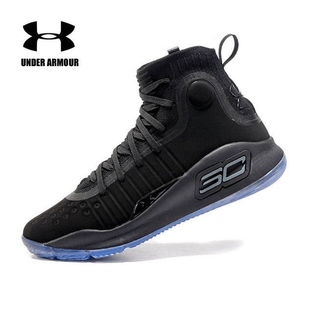 7f9f2291b7d3b Under Armour Men Curry 4 Basketball Shoes sock sneakers Training Boots Zapatillas  hombre deportiva tenis basketball