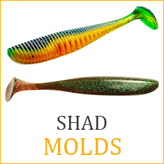 Shad Bait Molds – Page 2 – Authentic Handmade