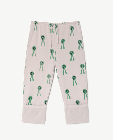 Magpie Kids Pants Mauve Animals