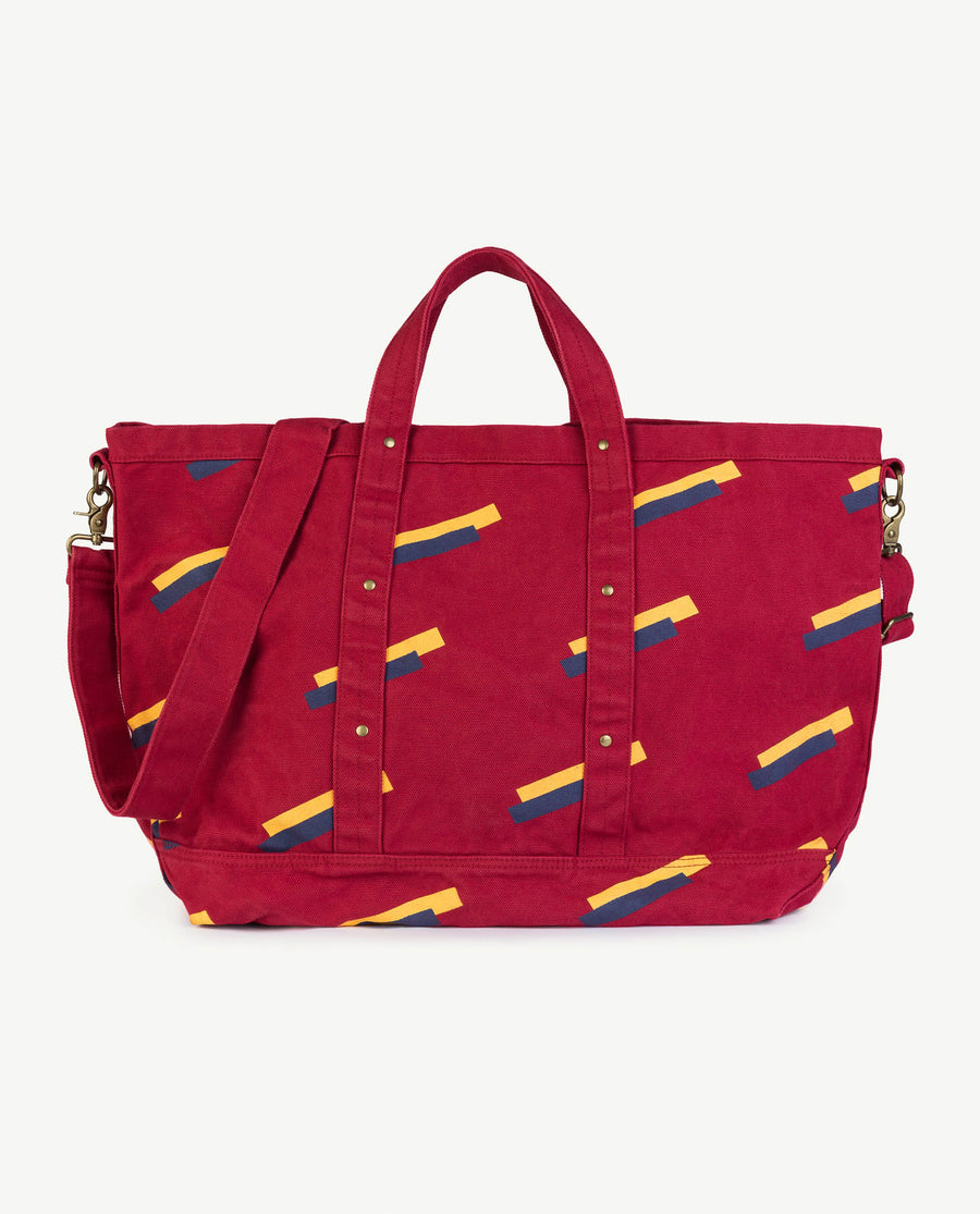 Big Canvas Bag Red Apple 80'S Os