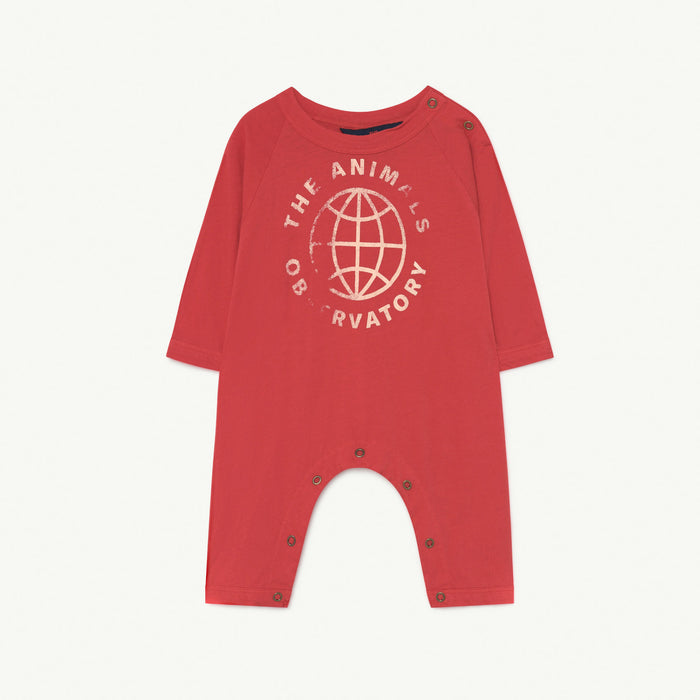 Owl Baby Body Red Planet