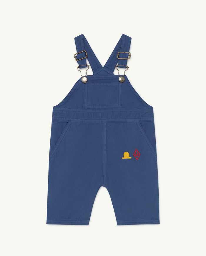 Mule Baby Jumpsuit Blue Hat