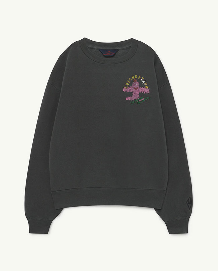 Bear Kids Sweatshirt Black Celebrating