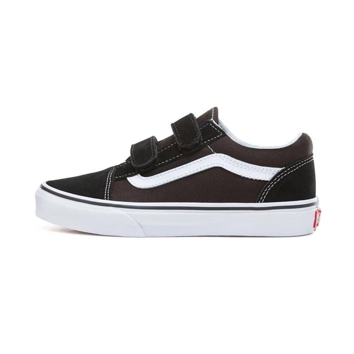VANS Old Skool V - Black-True White